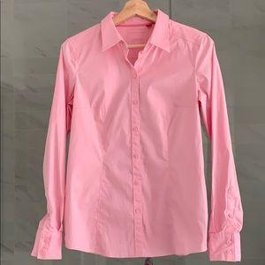 Esprit | Pink button up shirt
